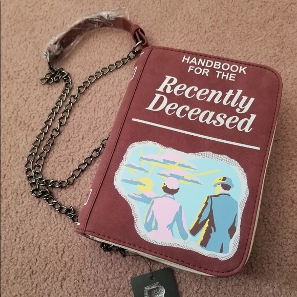 Bags Beetlejuice Recently Deceased Crossbody Poshmark